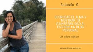 Escribir un blog personal y mostrar la vulnerabilidad