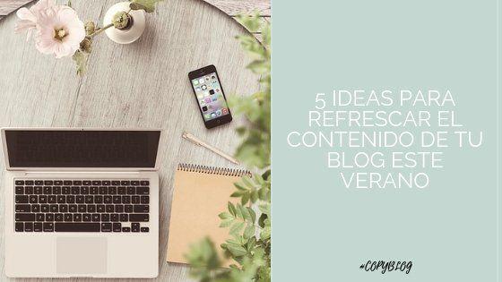 ideas de contenido verano