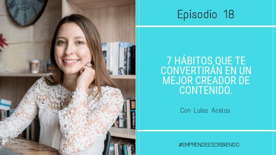 hábitos para ser un mejor creador de contenido