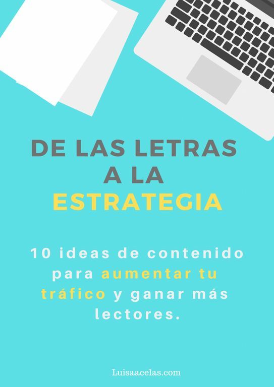ideas de contenido para blog