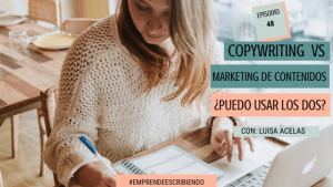 Copywriting vs marketing de contenido