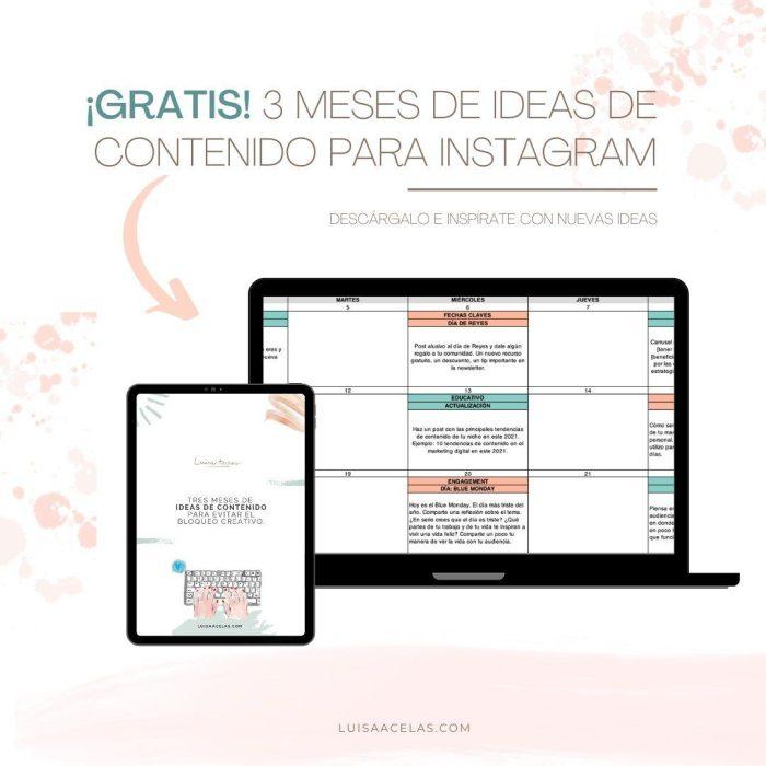 calendario de contenido trimestral